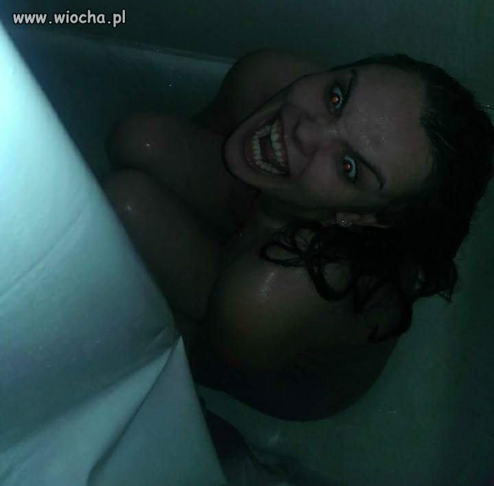 Niespodzianka pod prysznicem
