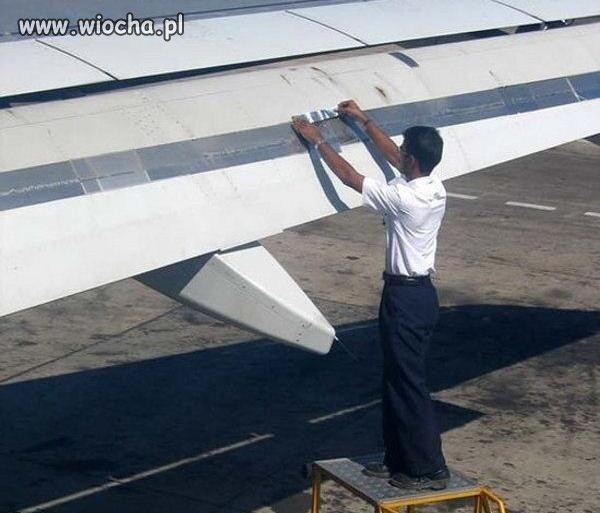 Profesjonalna naprawa samolotu !!!