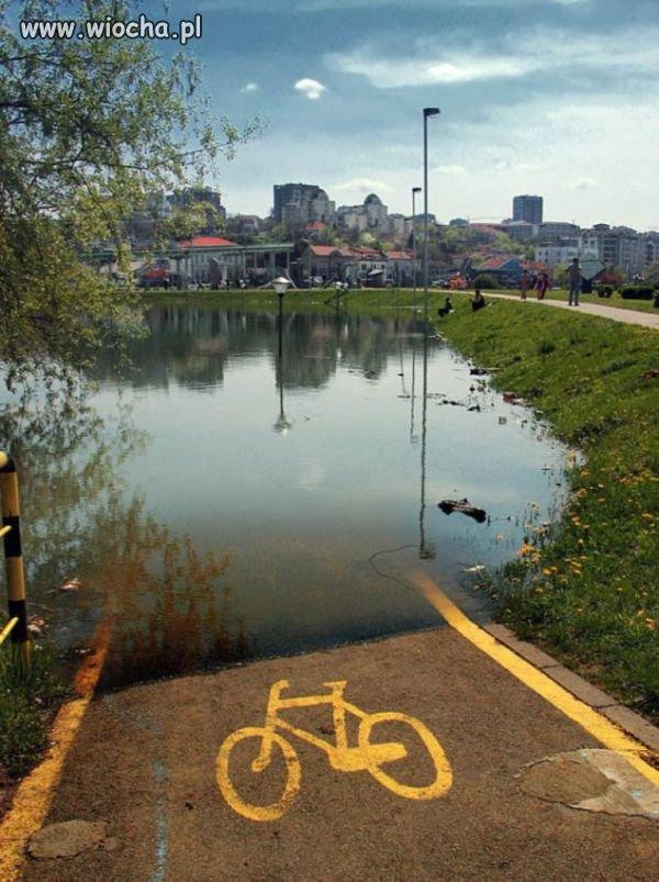 I przesiadka na rower wodny.