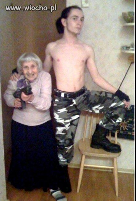 Babcia wojowniczka