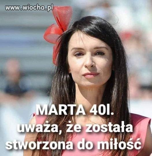 Kogo teraz kocha Marta?