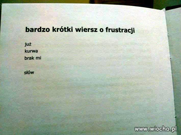 Poezja...