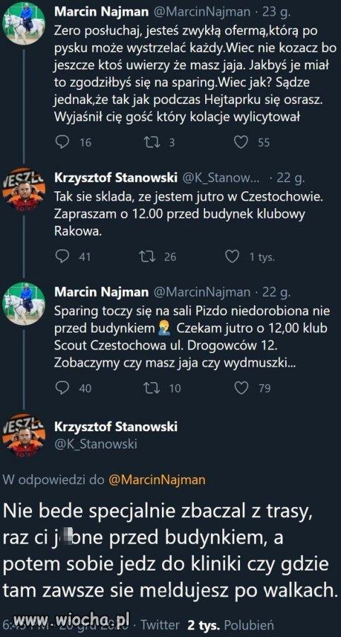 Marcin vs Krzysiek