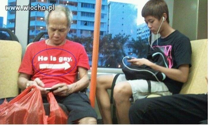 He is  gay