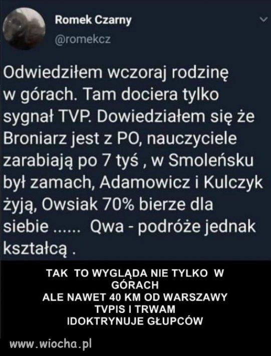 Elektorat PiS z polskich wsi, zna prawde!