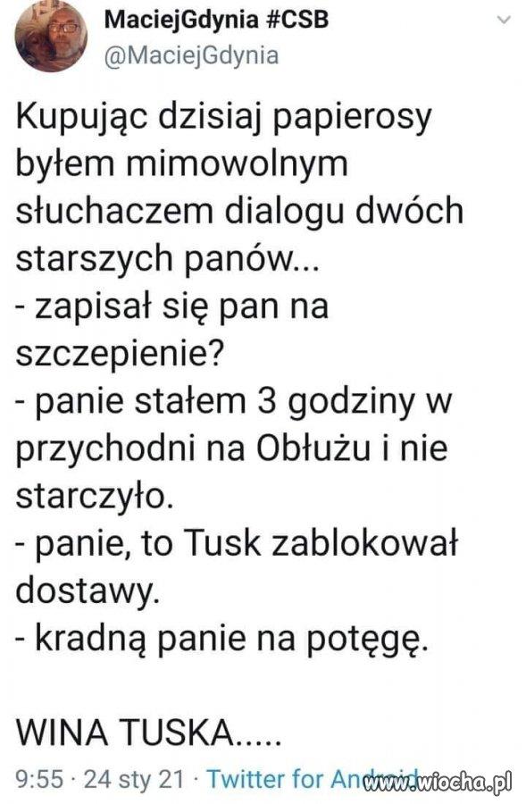 Znow-wina-Tuska