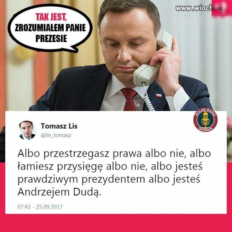 Prezydent-dlugopis