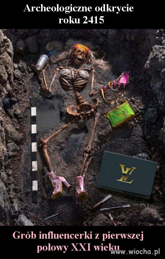 Archeologiczne odkrycie roku 2415