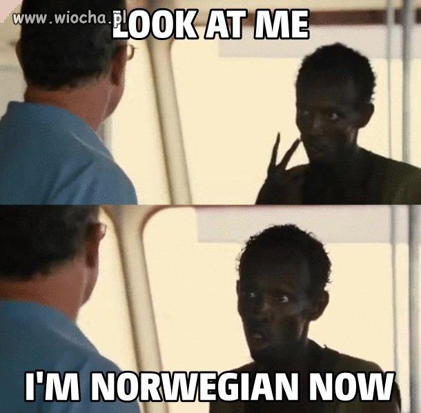 Przemiana Somalijczyka w Norwega