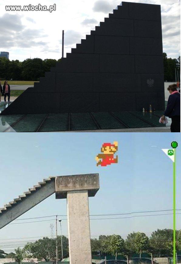 Polska vs Mario.