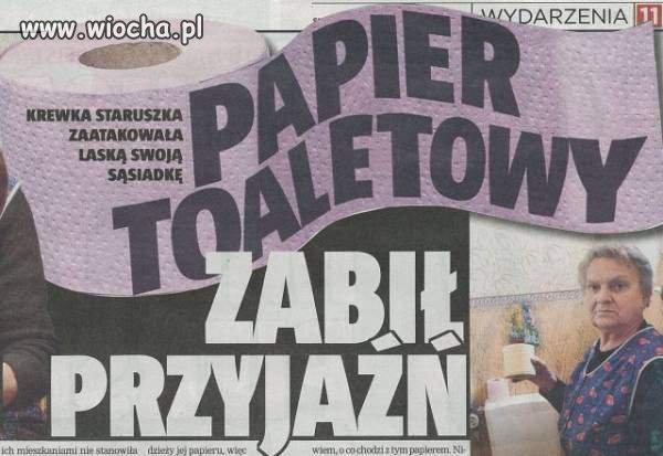 Dzisiejsze gazety ...