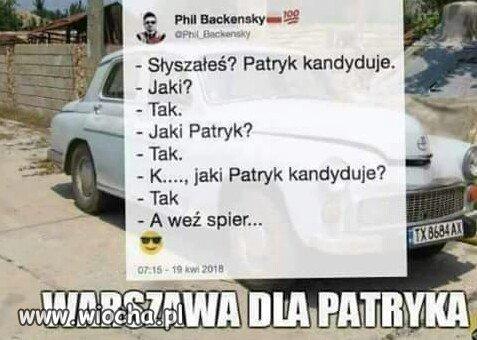 Jaki Patryk?