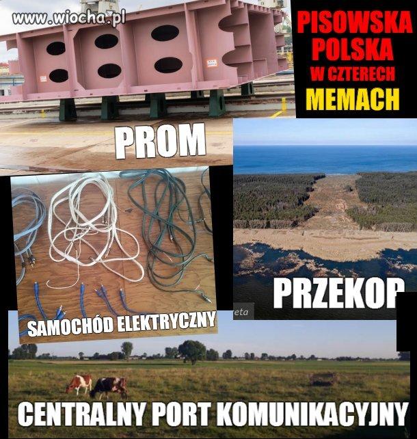 Polska w czterech memach