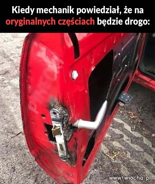 Dobry mechanik zawsze naprawi