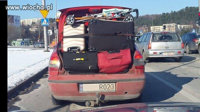 Cholernie pakowny ten sedan