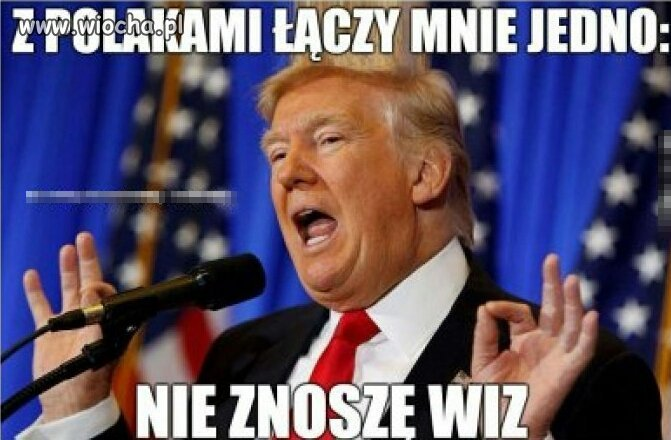 Trump o Polsce