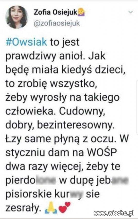 Owsiak to spoko facet