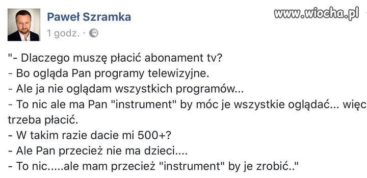 """Abonament jak """"instrument"""""""