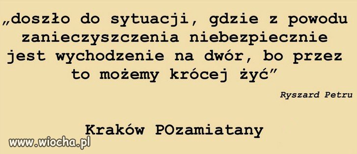 PiS--zanieczyscil-Krakow