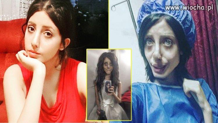 Przed i po metamorfozie - Sahar Tabar
