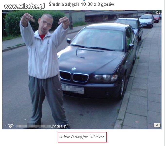 Cudze-BMW-dres-i-srodkowe-palce