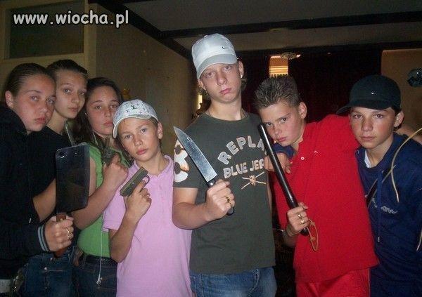 Mali gangsterzy ?!
