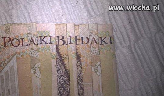 Banknoty NBP.