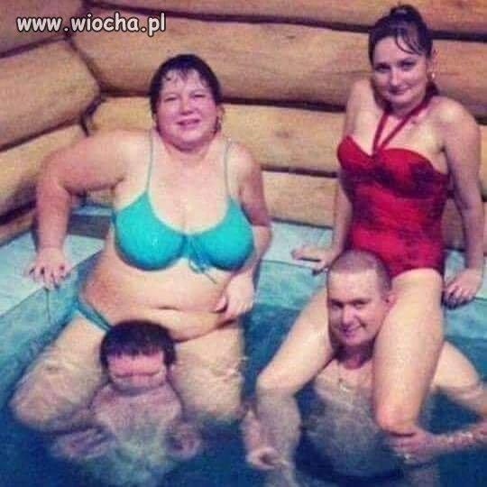 Trening na basenie