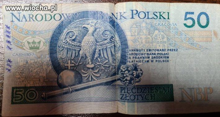 Nowy banknot w obiegu