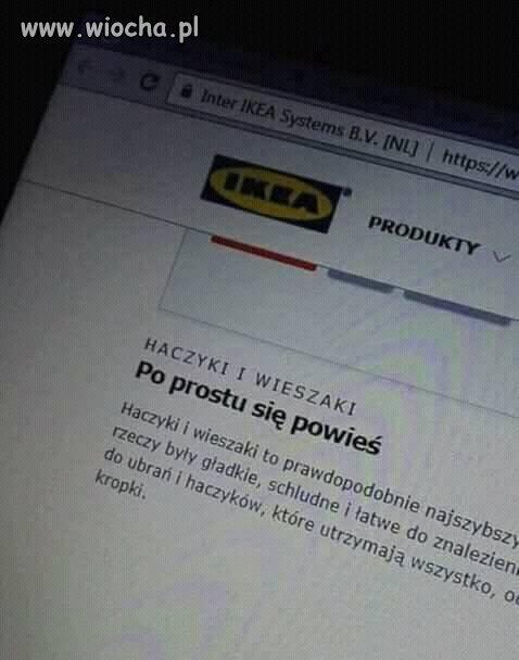 Ikea zawsze poradzi