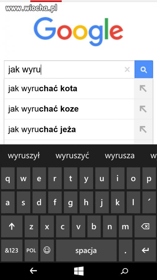 """Propozycje """"Google"""""""