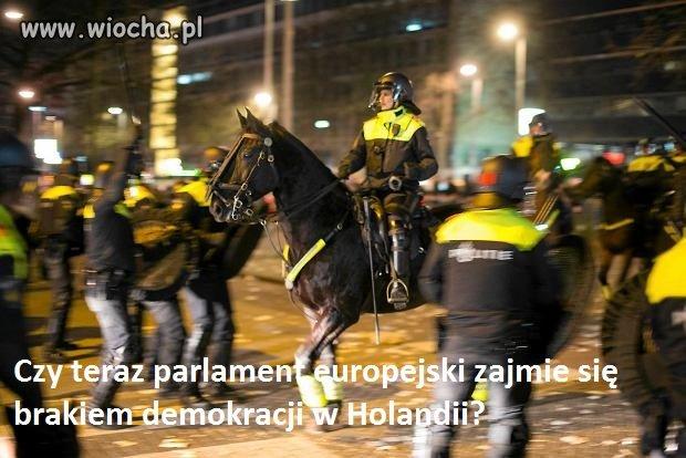 Zobaczymy co na to komisarz z PE o Holandii