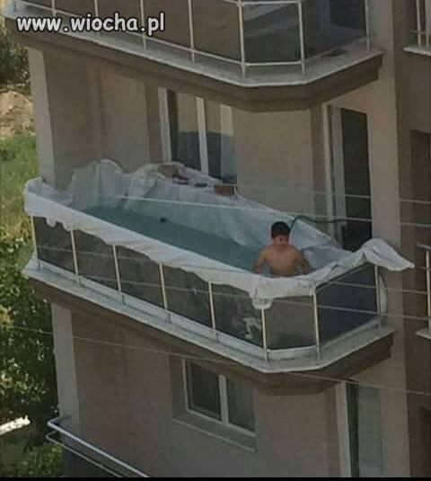 Bo ja, to mam basen w domu