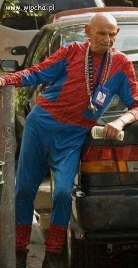 Spiderman na emeryturze