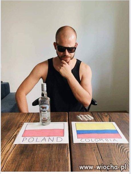 Hmmm... serce i rozum podpowiada Polska