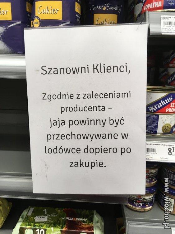 Producent jajek...