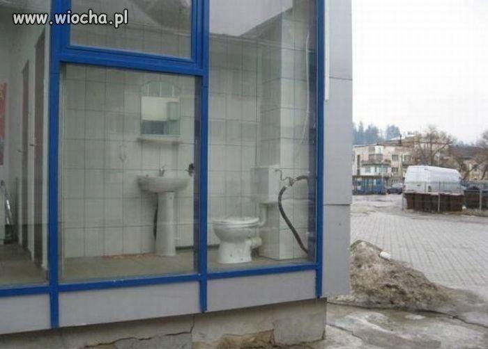 Nowoczesna toaleta publiczna