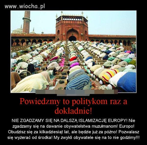 STOP ISLAMIZACJI EUROPY!