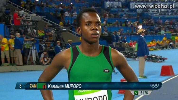 Mistrzyni Afryki na 400 m...