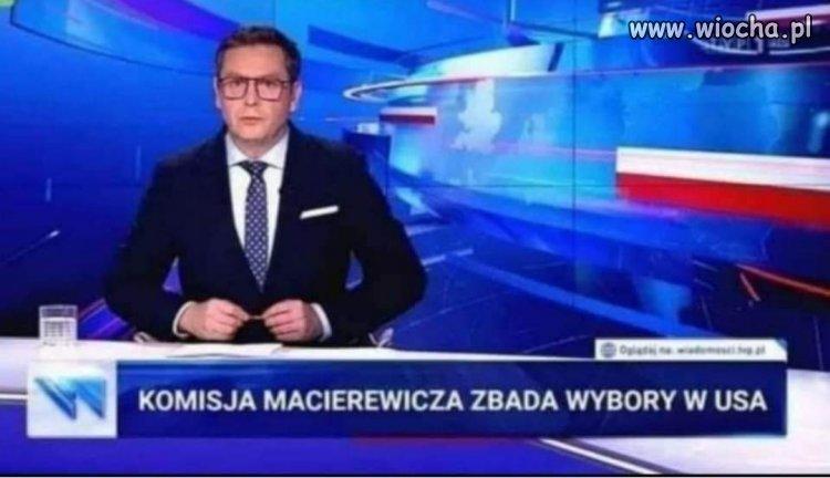 Macierewicz vs wybory USA