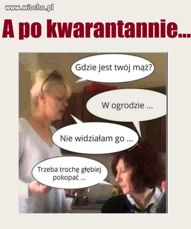 Kwarantanna...