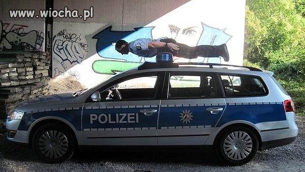 Policjanci bardzo specjalni