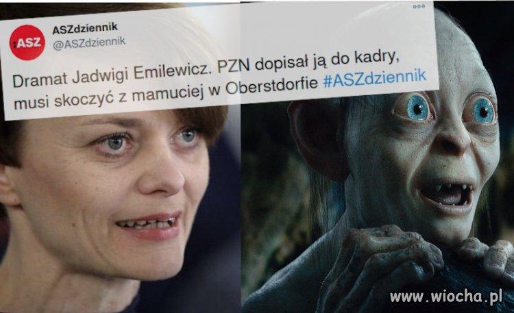 Dramat Jadwigi Emilewicz