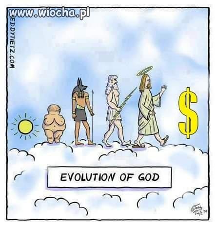 Ewolucja-Bogow