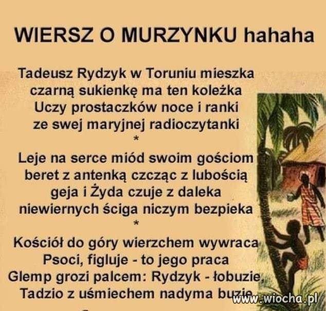 Wiersz o Murzynku