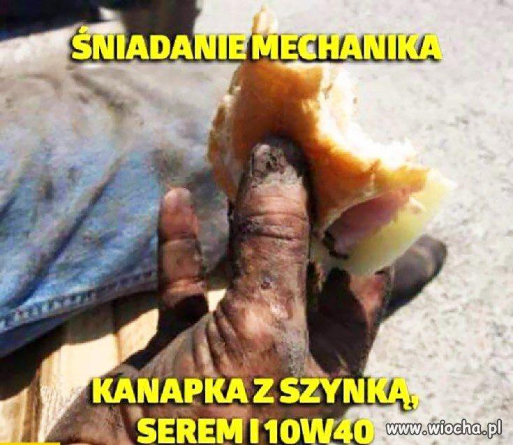 Sniadanie-mechanika