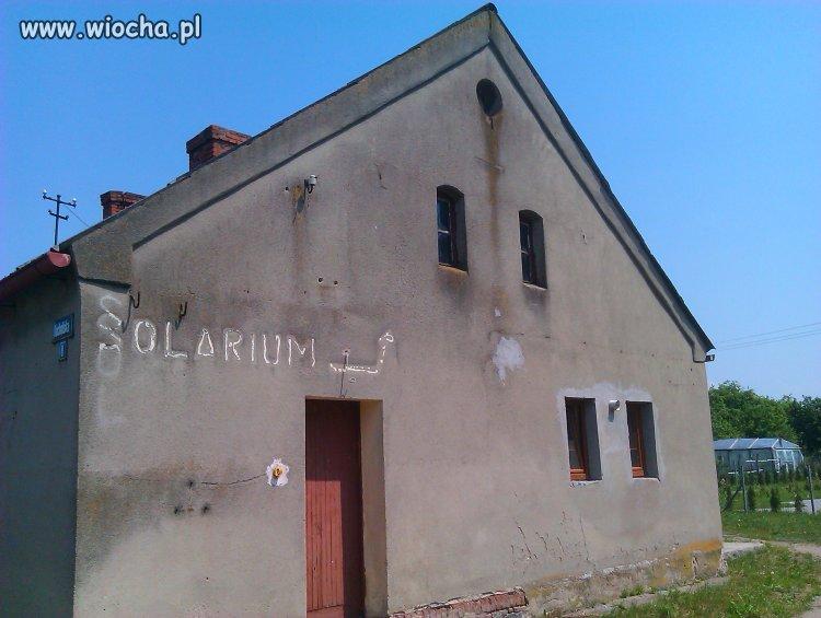 Solarium na wsi