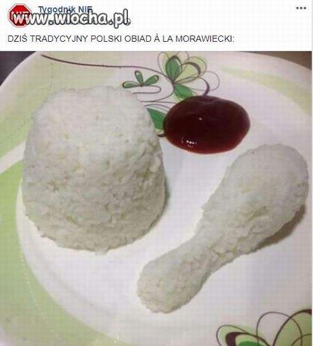 Obiad a la Morawiecki