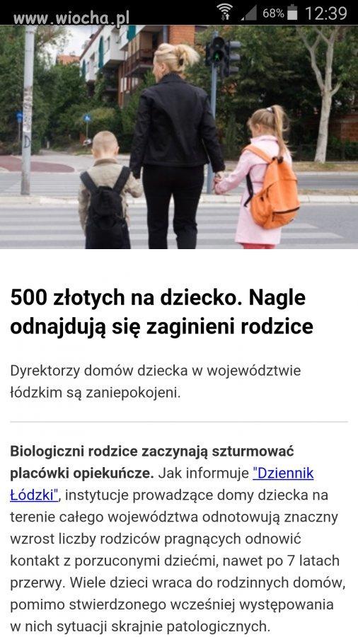 Plusy 500+