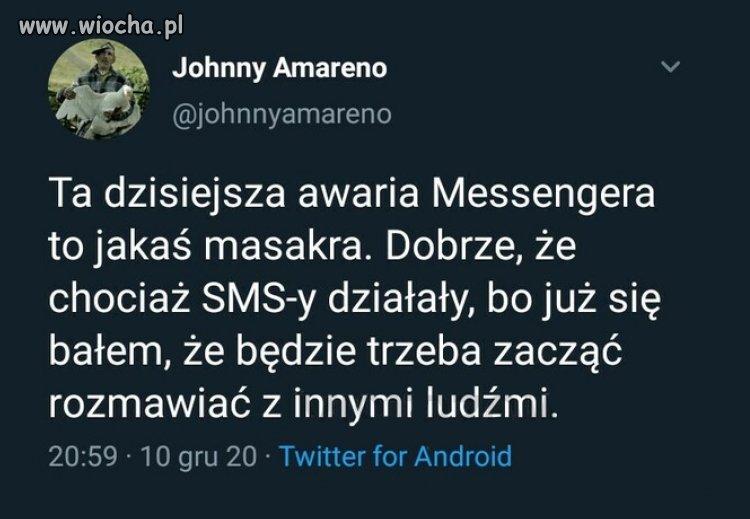 Awaria Messengera